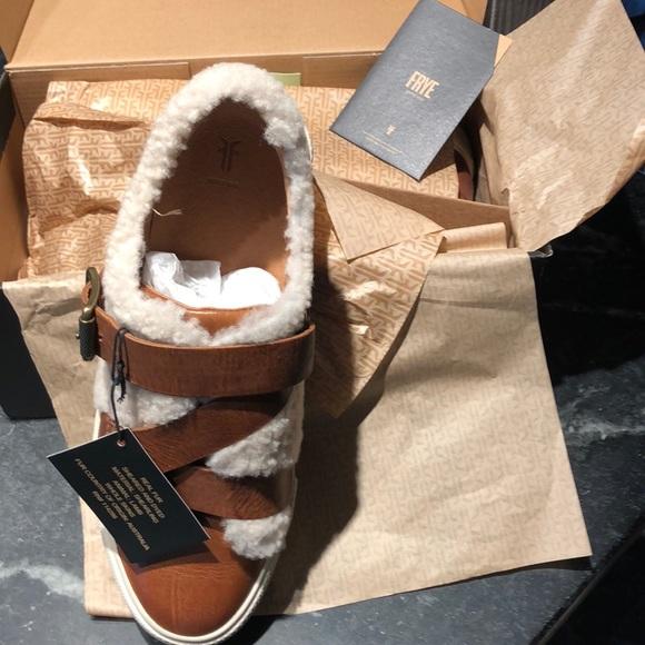 Frye Shoes   Gia Moto Low Sneaker In